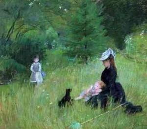 A l'herba, 1874