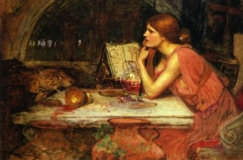 La fetillera, John William Waterhouse (c. 1911)