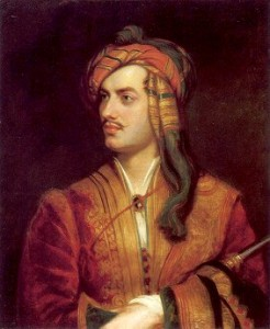 Lord Byron vestit d'albanès, retrat de Thomas Phillips (1835)