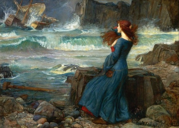 Miranda – The Tempest, John William Waterhouse (1916)