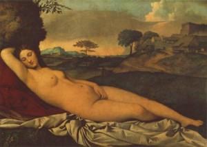 Venus adormida, Giorgione (1510)