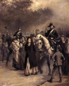 La detenció de Louise Michel, Jules Girardet (1871)