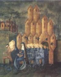 Hacia la torre, Remedios Varo (1960)