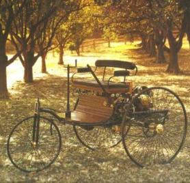 Reproducció idèntica del Benz Motorwagen feta l'any 1986