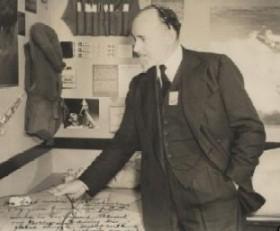 El famós explorador Sir Hubert Wilkins (1888-1958)