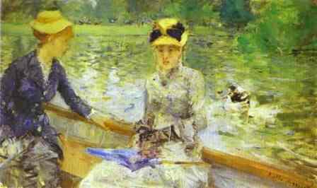 Un dia d'estiu, Berthe Morisot (1879)
