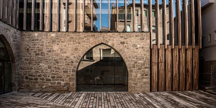 Façana de la Biblioteca Carles Morató