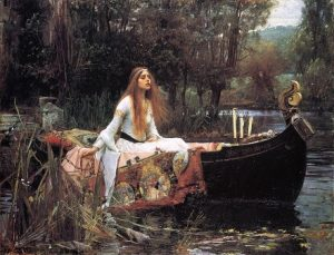 The Lady of Shalott, John William Waterhouse (1888)