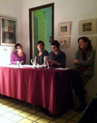 D'esquerra a dreta Ruth Troyano, Estela Piñol, Maria Lluisa Latorre i Dolors Aldama