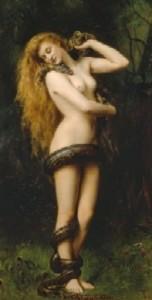 Lilit, pintura de John Collier (1892)
