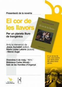 Cartell informatiu de la presentació