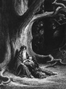 El mag Merlí i el jove Artur