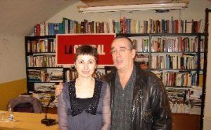 Maria Lluïsa i l'actor Ferran Rañé