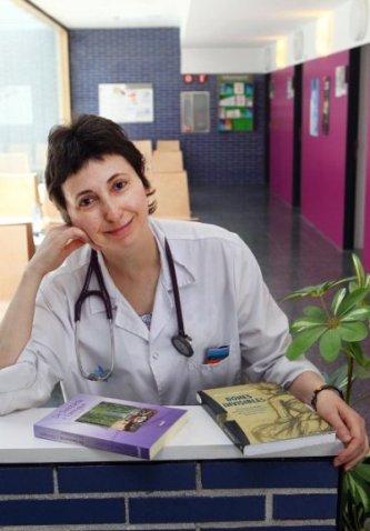 Maria Lluïsa Latorre a l'ambulatori de Tordera. Foto de Jordi Ribot / ICONNA (25 / 5 / 2012)