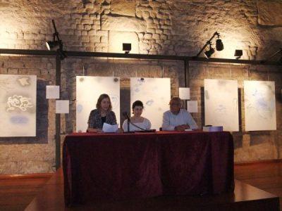 D'esquerra a dreta Montserrat Saborit, Maria Lluïsa Latorre i Antoni Ylla-Català