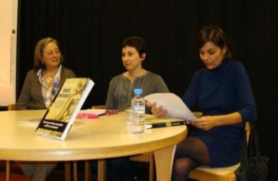 D'esquerra a dreta Ramona Suriol, Maria Lluïsa Latorre i Sílvia Amigó
