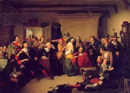 Examination of a Witch, Thompkins H. Matteson (1853)