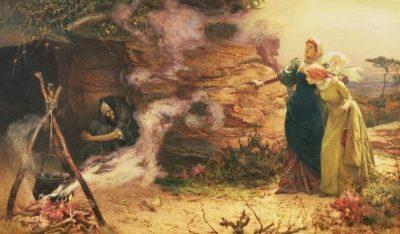 Visita a la bruixa, Edward Frederick Brewtnall (1882)